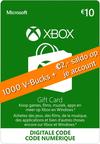 1000 Fortnite V-Bucks (Xbox)