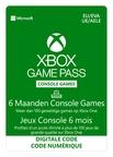 Xbox Game Pass 6 maanden