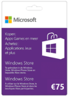 Windows Gift Card 75 euro