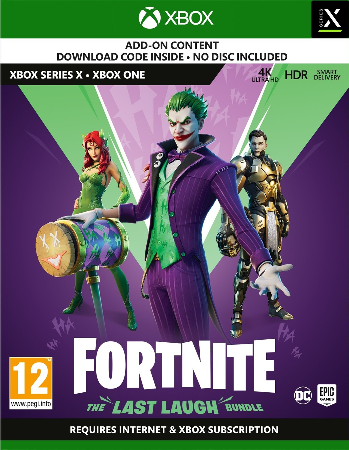 Fortnite: The Last Laugh Bundle - Xbox One/Series X