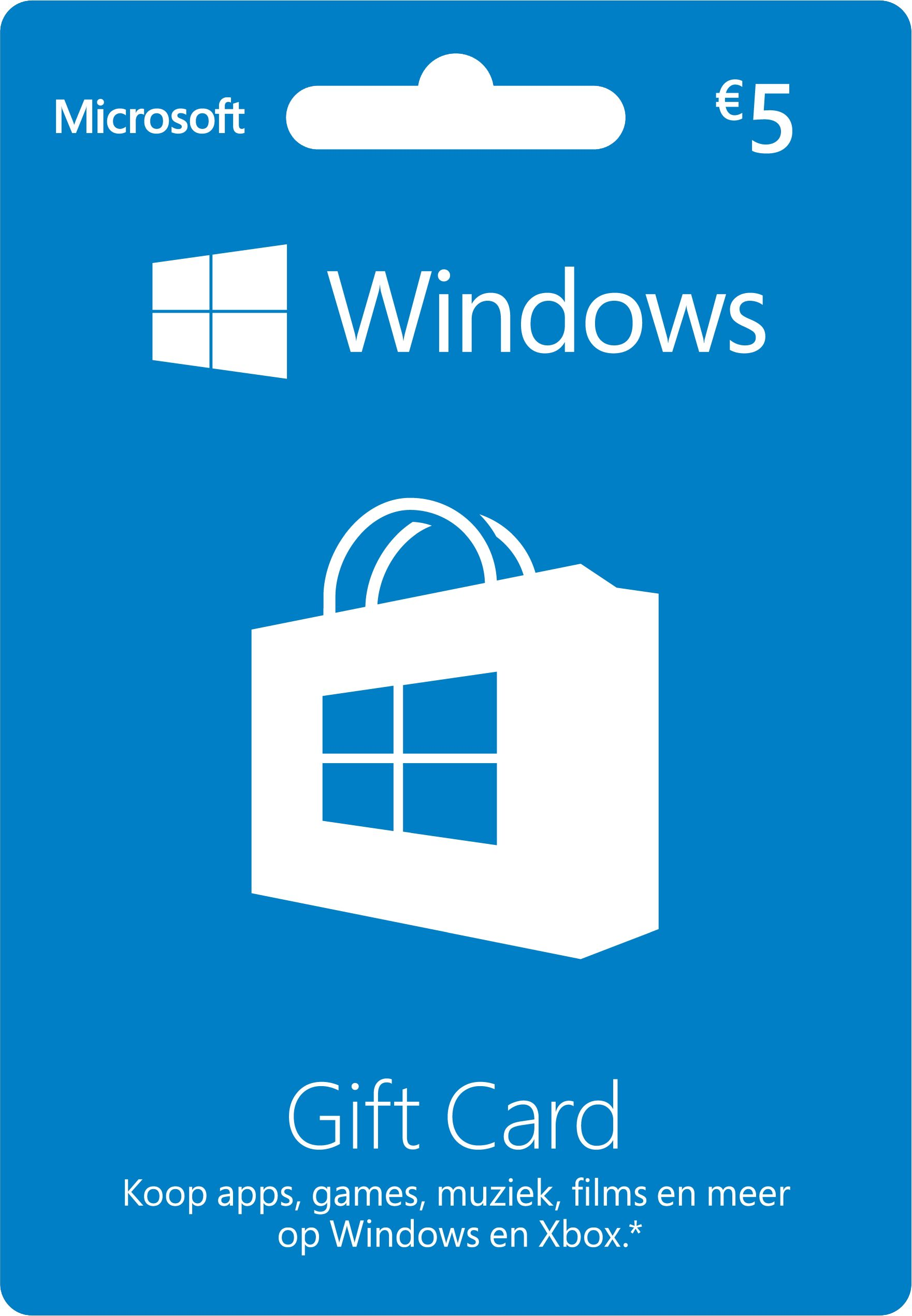 Windows Gift Card 5 euro